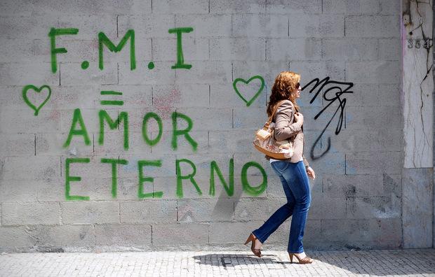 MMF - večná láska, hlása grafity v Porte