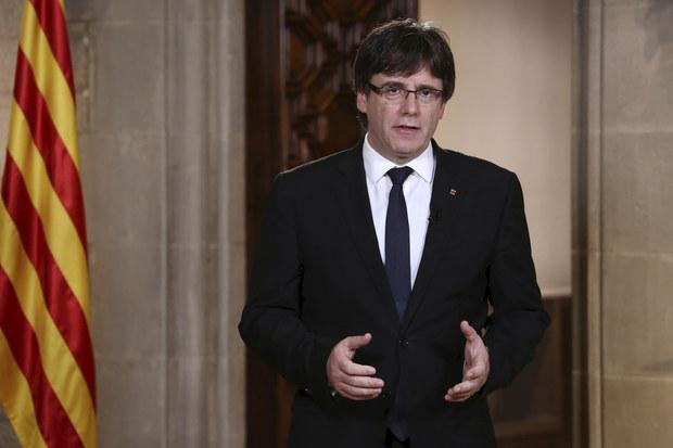 Katalánsky premiér Carles Puigdemont