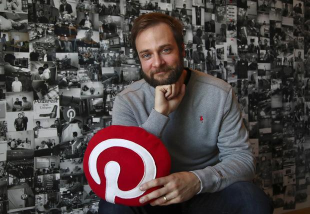 Evan Sharp, súčasný šéf a jeden zo zakladateľov Pinterestu