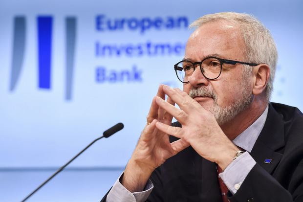 Prezident Európskej investičnej banky Werner Hoyer