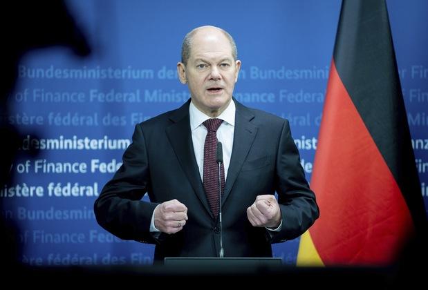 Nemecký minister financií Olaf Scholz
