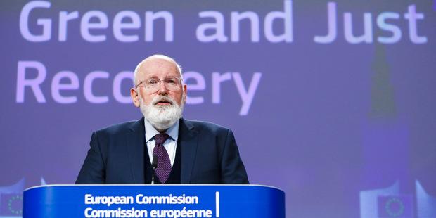 Výkonný podpredseda Komisie Frans Timmermans