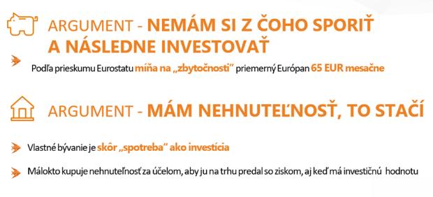 Dve tretiny Slovákov by chcelo investovať, nevedia však ako