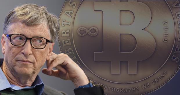 Bill Gates: Kryptomeny zabíjajú ľudí