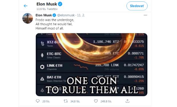 Bill Gates: Ak nemáte peňazí nazvyš, ako Elon Musk, bitcoiny nekupujte