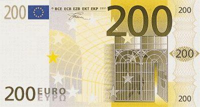 200$ In EUR